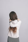Strong sense of loneliness and depression Stock Photography
