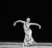 A strong sense of loss-Errand into the maze-Modern dance-choreographer Martha Graham Stock Images