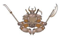 Strong shogun Royalty Free Stock Image