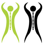 Strong Spine Man Royalty Free Stock Photography