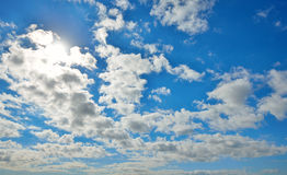 Strong sun and skies Stock Photography
