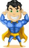Strong super hero. Vector illustration of strong super hero Stock Photos