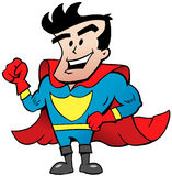 Strong Super Hero Stock Photography