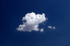 Strong and thick cloud Stock Photo