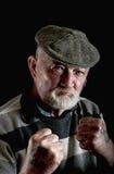 Strong and tough old man Stock Photos