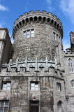Strong tower of the Dublin castle Stock Images