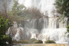 Strong Waterfall background Stock Image