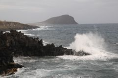 Strong Waves Royalty Free Stock Images