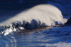 Strong Waves Stock Photo