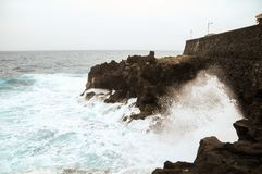 Strong Waves Royalty Free Stock Photo