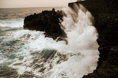 Strong Waves Royalty Free Stock Image