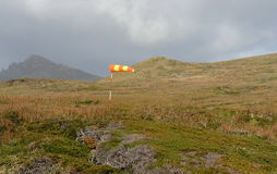 Strong winds at Cape horn, Tierra del Fuego Royalty Free Stock Photos