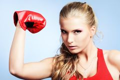 Strong woman Royalty Free Stock Images