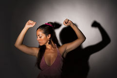 Strong woman Royalty Free Stock Image