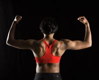 Strong woman. Stock Images