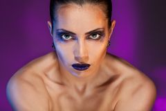 Strong woman beauty Royalty Free Stock Image