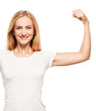 Strong woman Stock Image