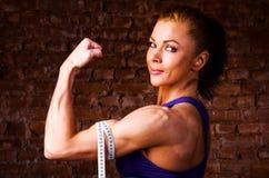 Strong woman Royalty Free Stock Photos