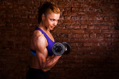 Strong woman Royalty Free Stock Photo