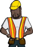 Strong Worker Stock Photography