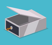 Strongbox design. Stock Photo