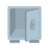 Strongbox icon. Money design. Vector graphic Royalty Free Stock Photo