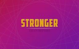 stronger Photographie stock libre de droits