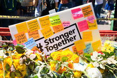 Stronger together - powerful for bangkok Stock Image