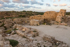 Stronghold in Apollonia National Park Royalty Free Stock Images