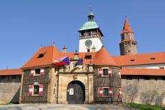 Stronghold Bouzov, Czech Royalty Free Stock Photo
