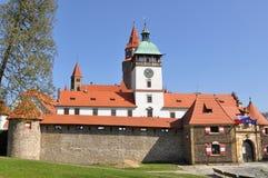 Stronghold Bouzov, Czech Royalty Free Stock Photography