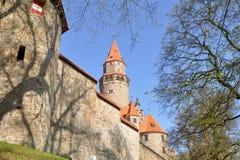 Stronghold Bouzov, Czech Royalty Free Stock Photos