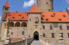 Stronghold Bouzov, Czech. Most inportent and beautiful castle-stronghold in Czech republic,Bouzov Royalty Free Stock Photography