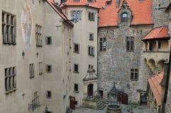 Stronghold Bouzov, Czech Stock Image