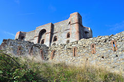 Stronghold, diamante, genoa. The fortification diamond on the hill overlooking the Genoa Royalty Free Stock Images