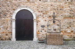 Stronghold front door Stock Photos