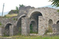 Stronghold in Gjirokaster, Albania Royalty Free Stock Image