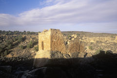 The Stronghold House at  Hovenweep National Monument Indian ruins, UT Royalty Free Stock Image