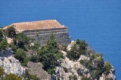 Stronghold Monolithos,island Rhodes,Greece Royalty Free Stock Photos