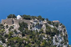 Stronghold Monolithos,island Rhodes,Greece Stock Image