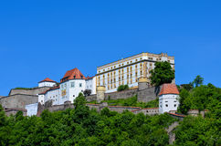Stronghold of passau Royalty Free Stock Photo
