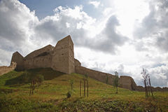 Stronghold. Walls on sunny sky Stock Images