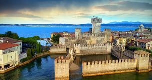 Stronghold on water Royalty Free Stock Photo