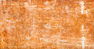 Strongly rusty metal plate Stock Photo