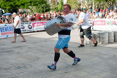 Strongman Champions League Stock Photography