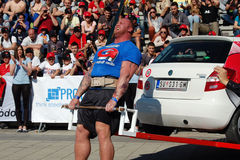 Strongman Championship Royalty Free Stock Images