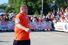 Strongman Championship Royalty Free Stock Image