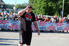 Strongman Championship Royalty Free Stock Photo