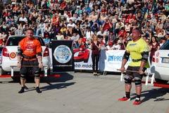 Strongman Championship Stock Image