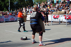 Strongman Championship Royalty Free Stock Photos